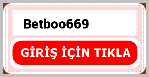 Betboo669