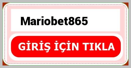 Mariobet865