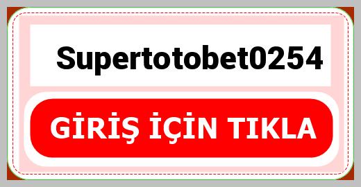 Supertotobet0254