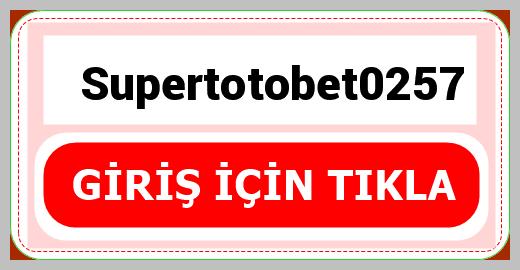 Supertotobet0257