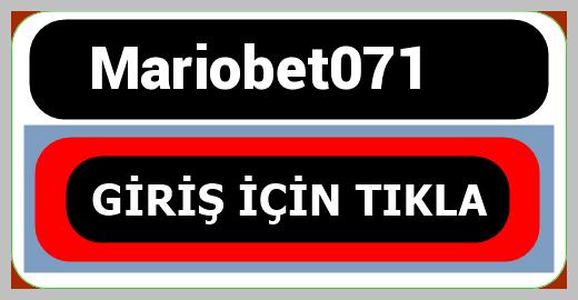 Mariobet071