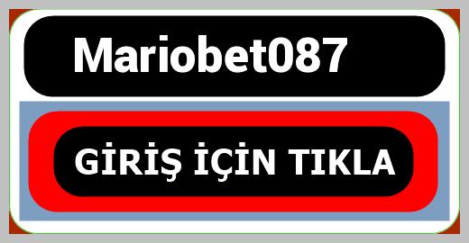 Mariobet087