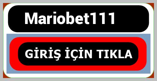Mariobet111