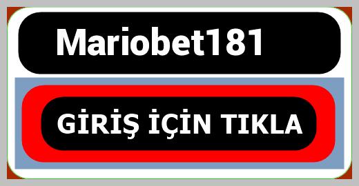 Mariobet181