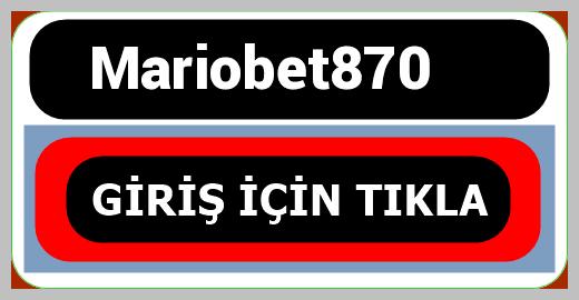 Mariobet870