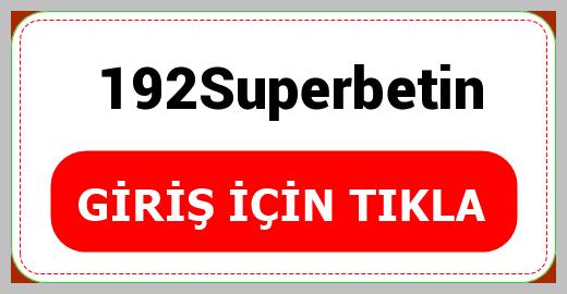 192Superbetin