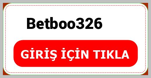 Betboo326