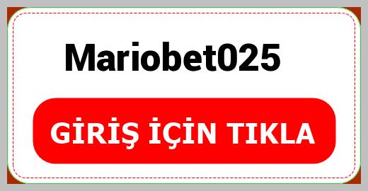 Mariobet025
