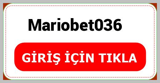 Mariobet036