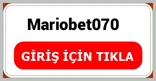 Mariobet070