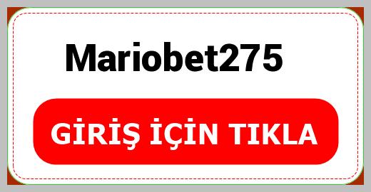 Mariobet275