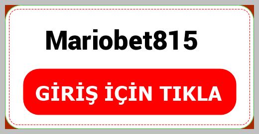 Mariobet815