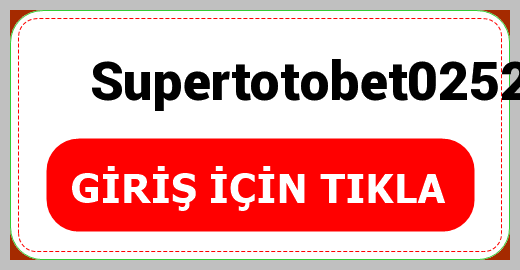 Supertotobet0252