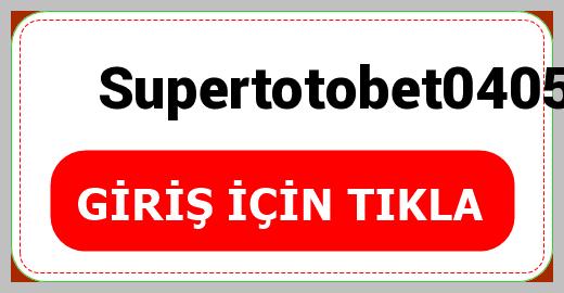 Supertotobet0405