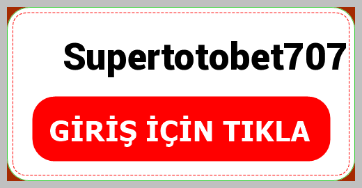 Supertotobet707