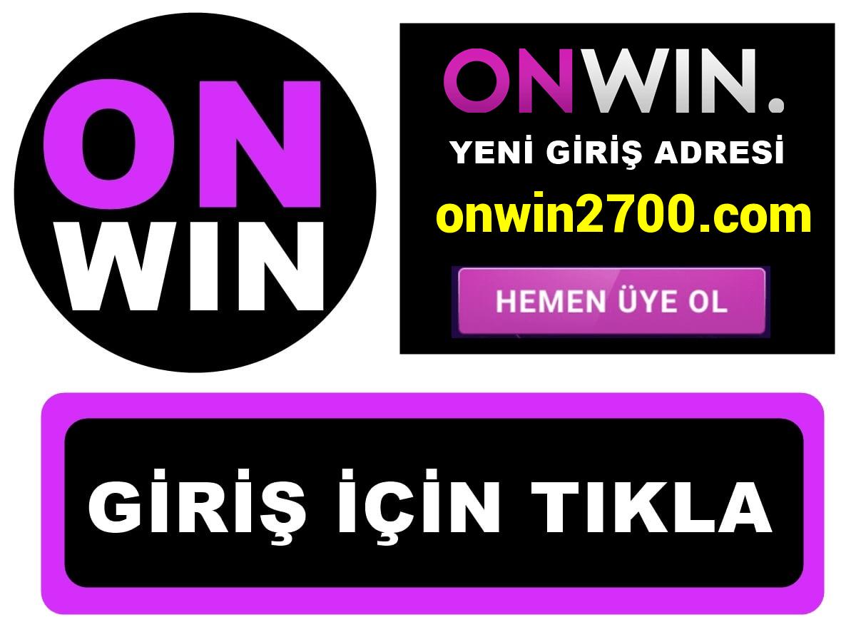 Onwin2700 Onwin 2700 giriş