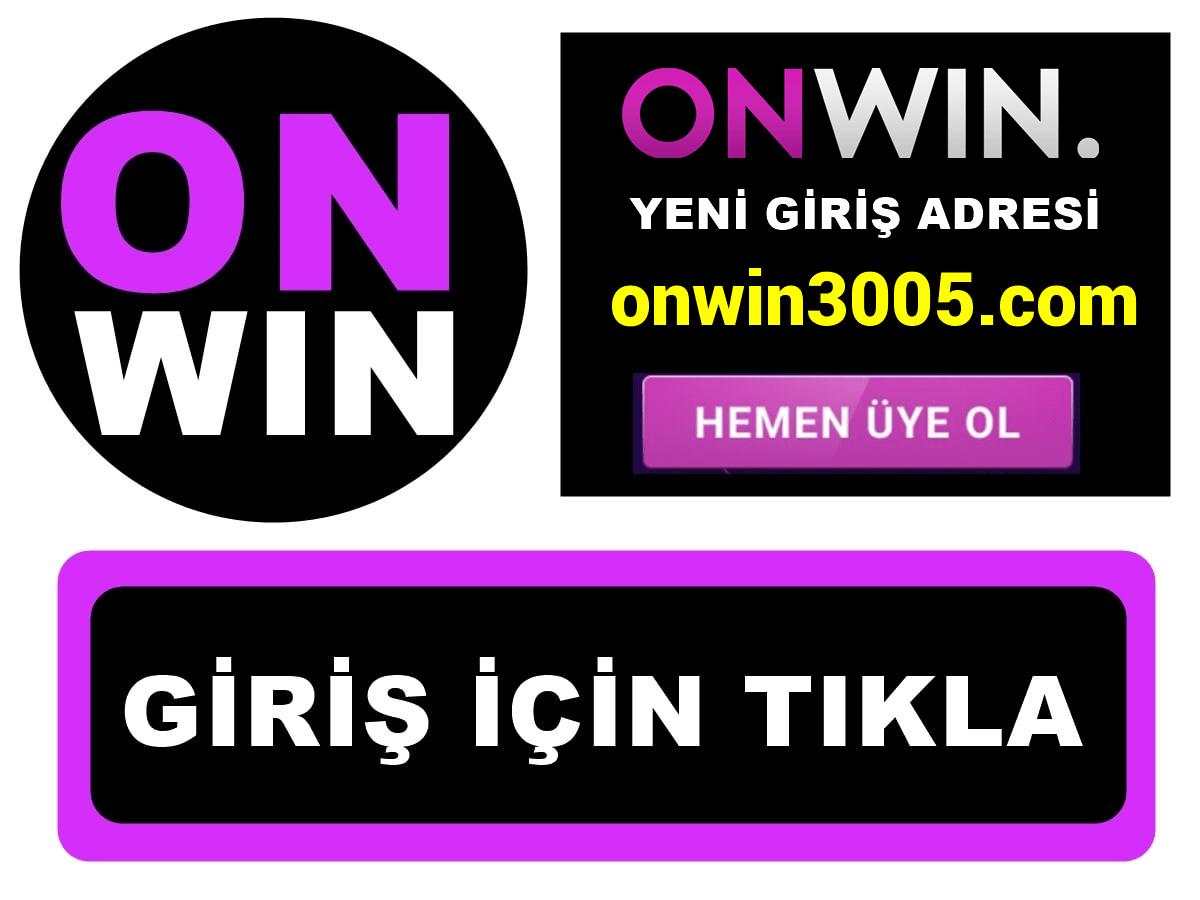 Onwin3005 Onwin 3005 giriş