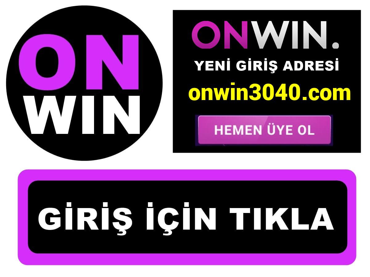 Onwin3040 Onwin 3040 giriş