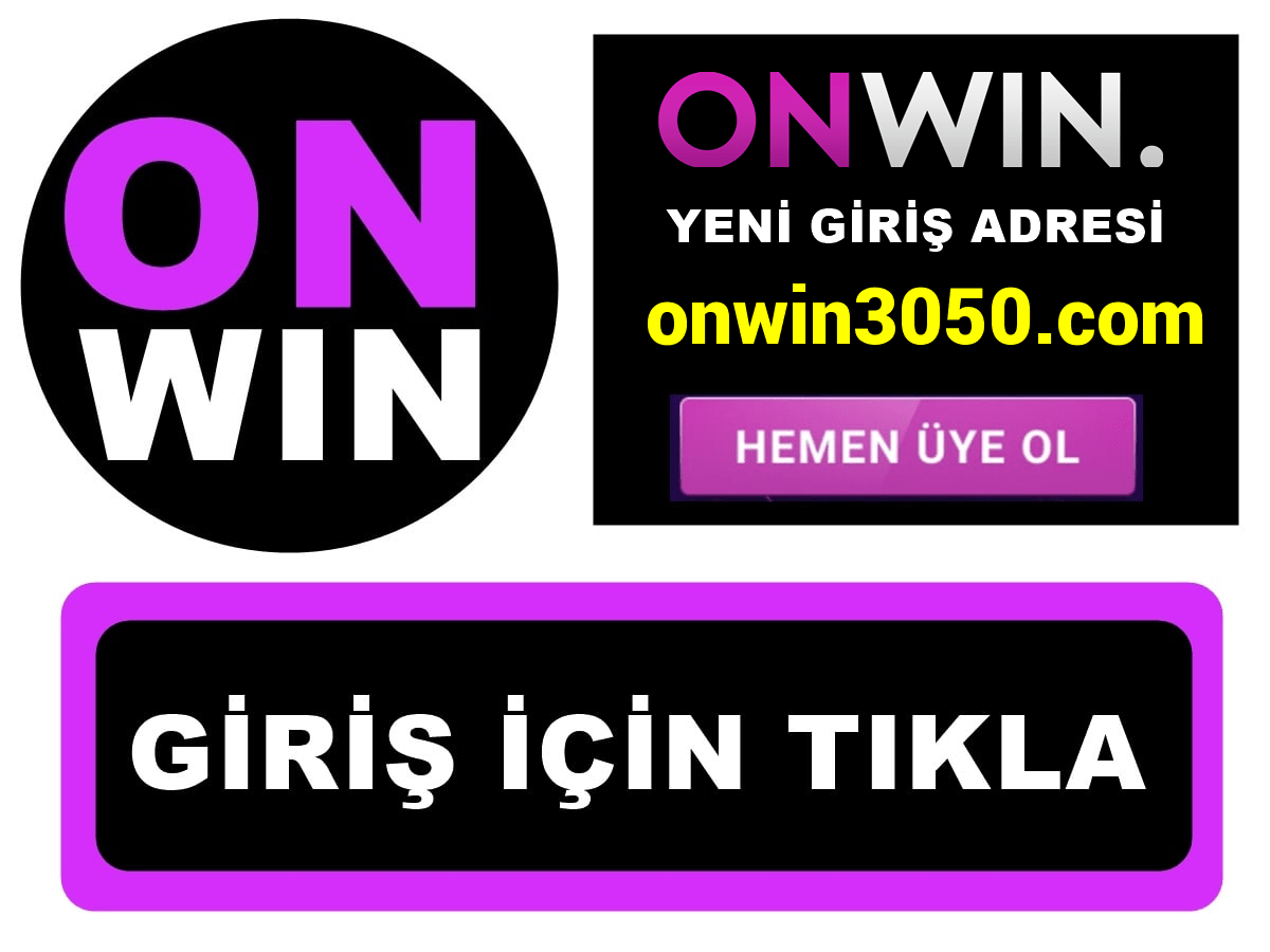 Onwin3050 Onwin 3050 giriş