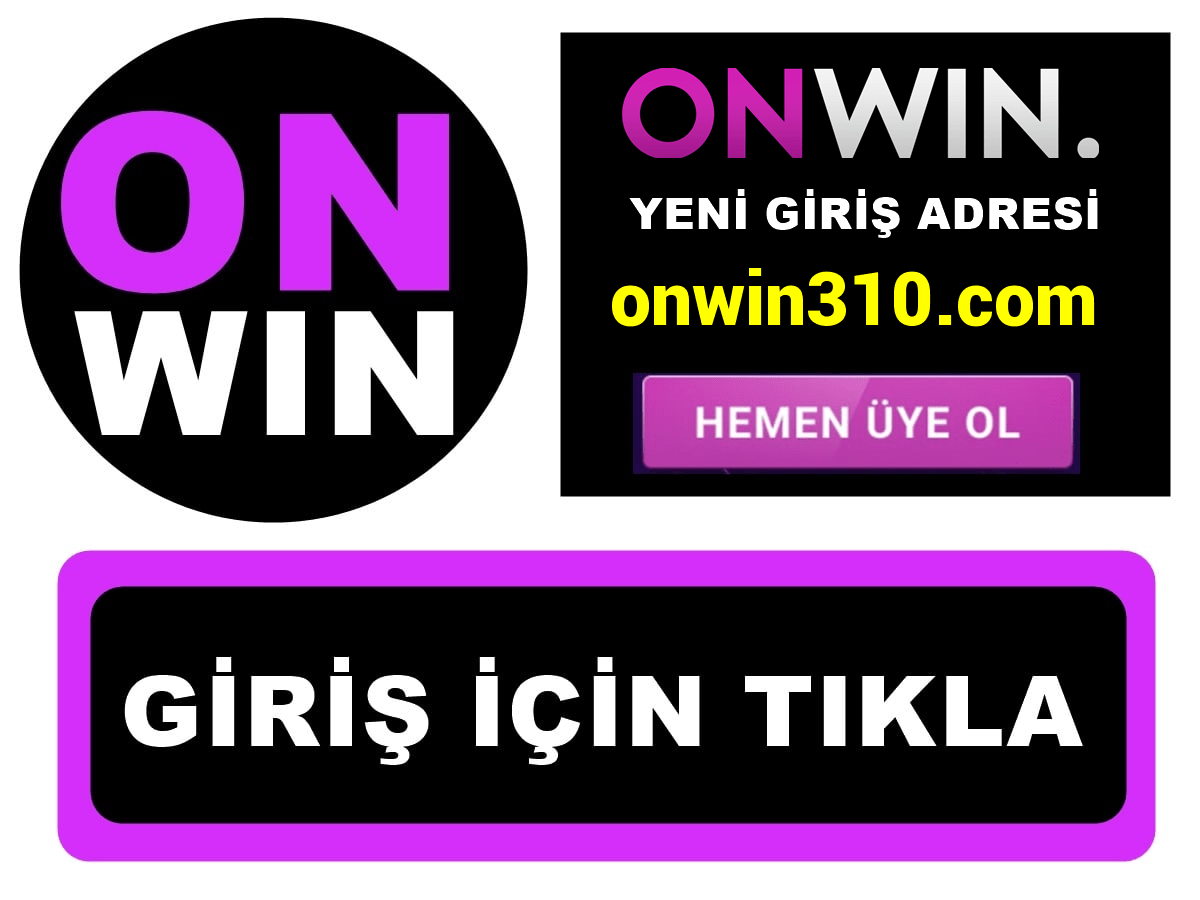 Onwin310 Onwin 310 giriş