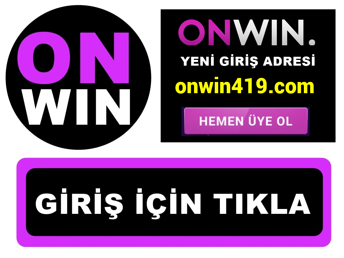 Onwin419 Onwin 419 giriş