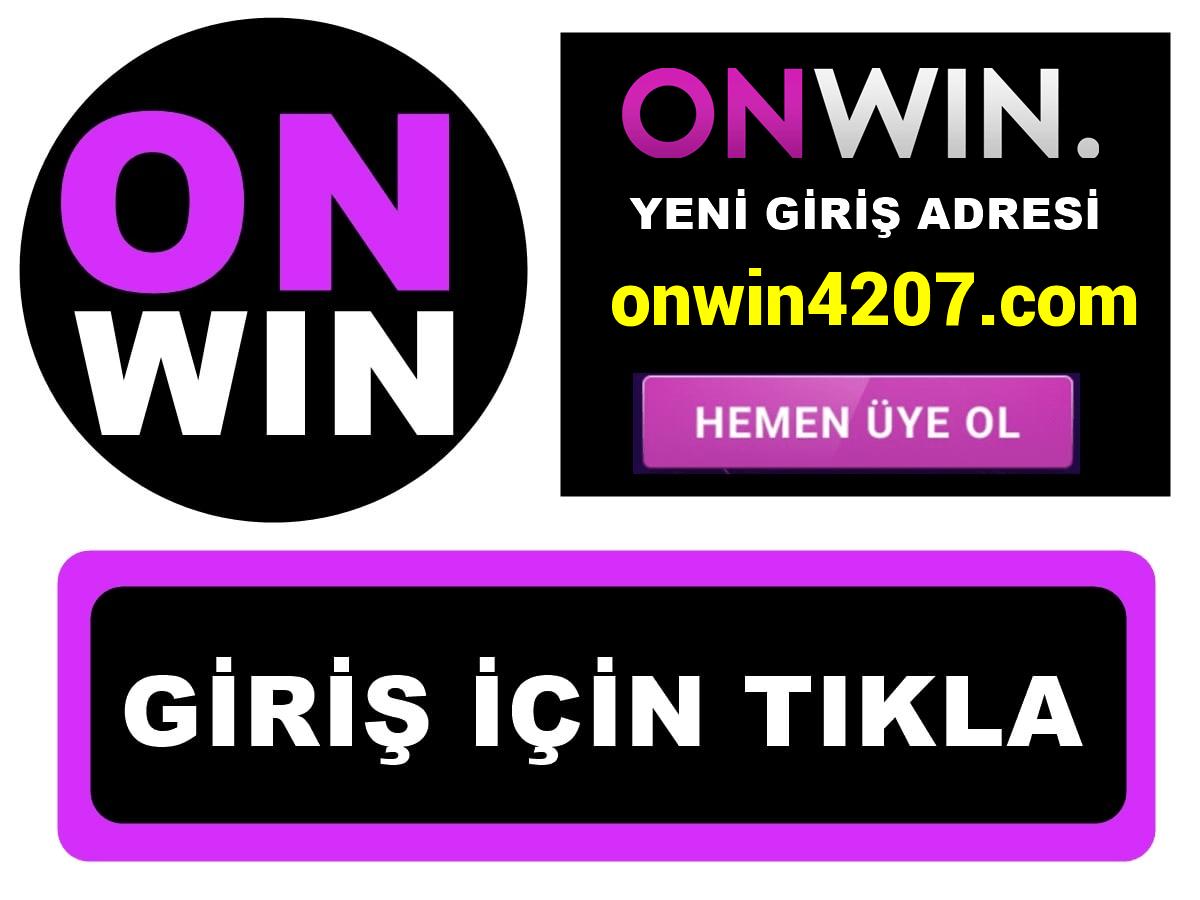 Onwin4207 Onwin 4207 giriş