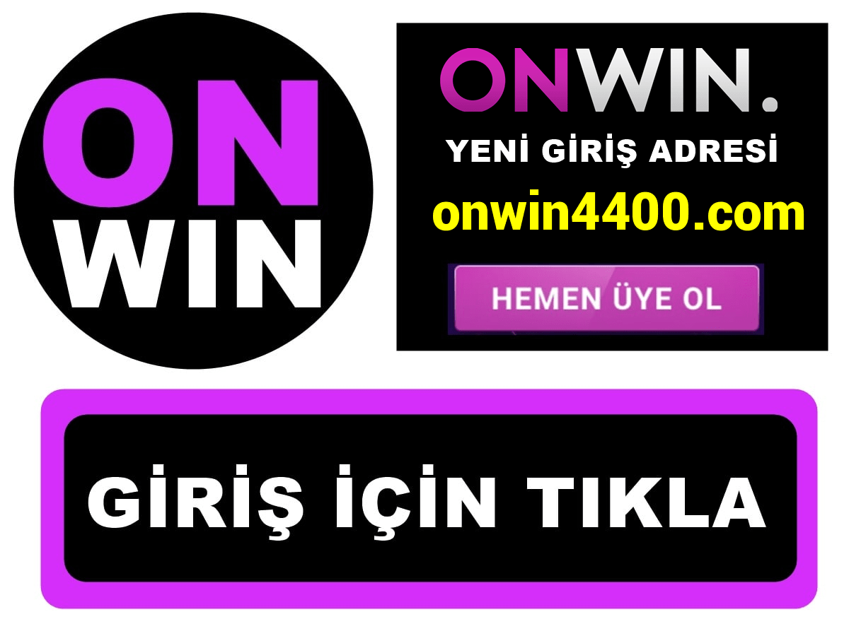 Onwin4400 Onwin 4400 giriş