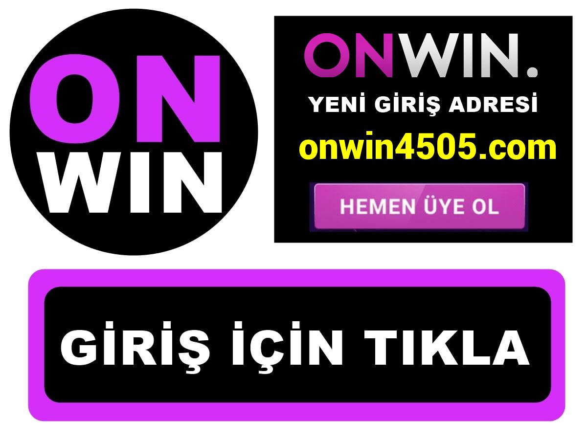 Onwin4505 Onwin 4505 giriş