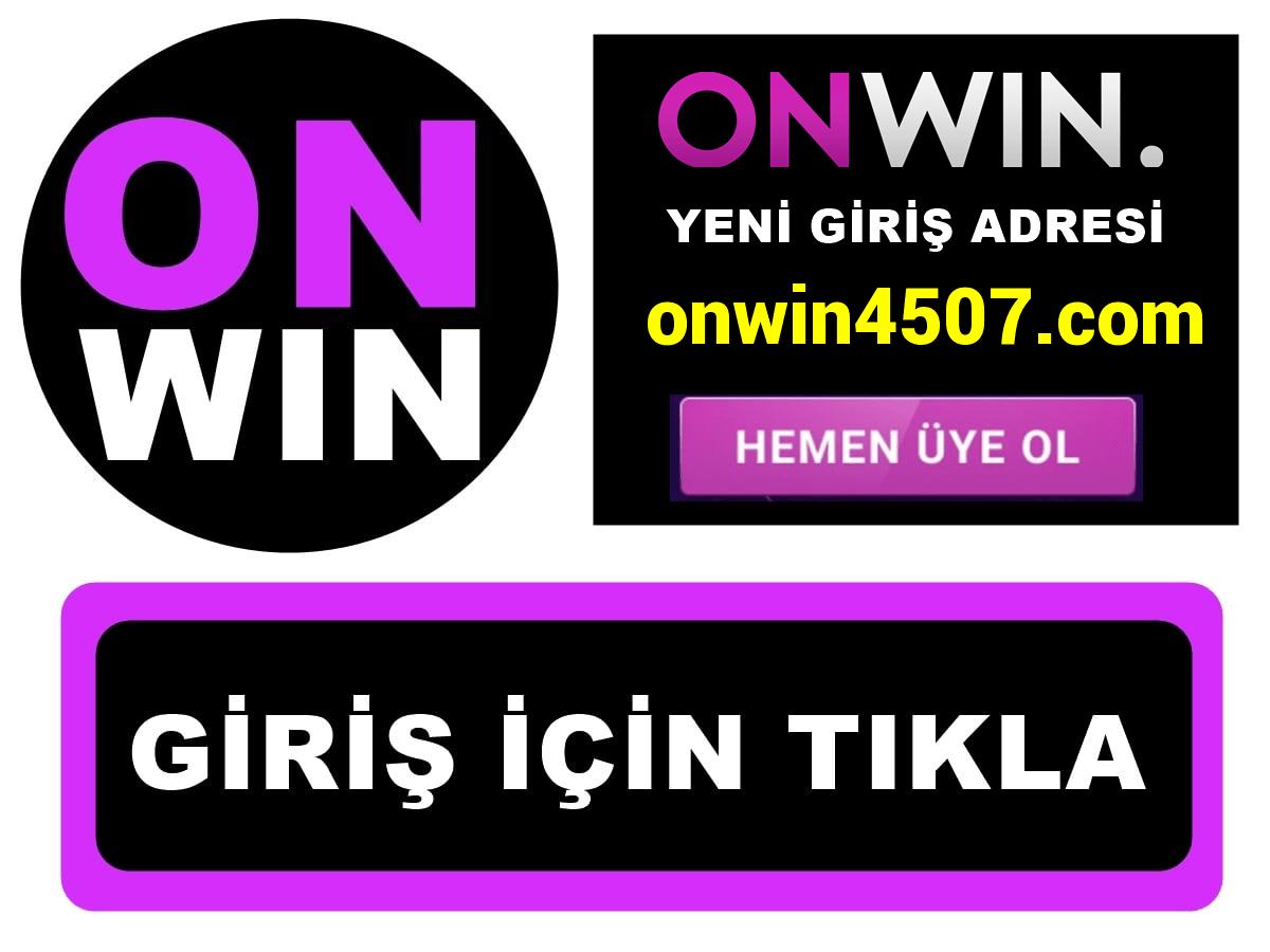 Onwin4507 Onwin 4507 giriş
