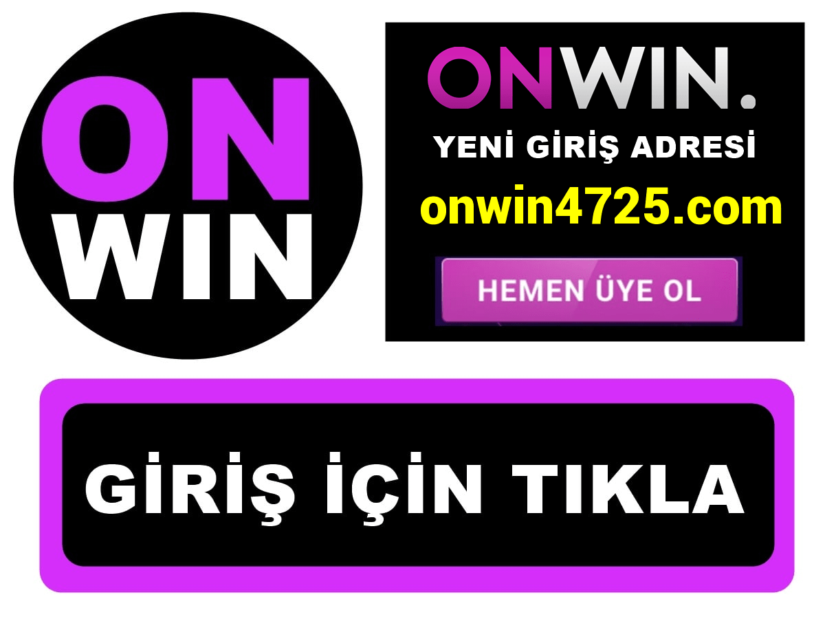 Onwin4725 Onwin 4725 giriş