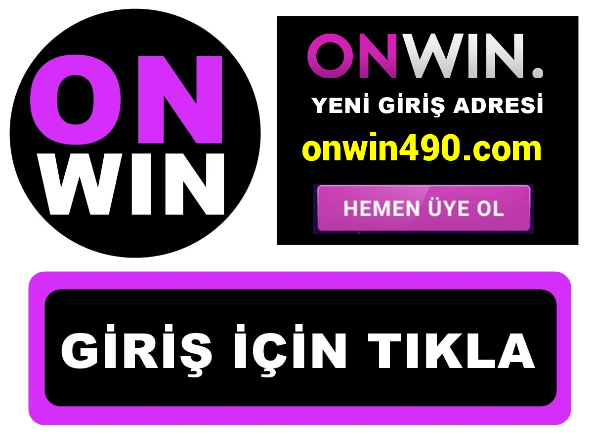Onwin490 Onwin 490 giriş